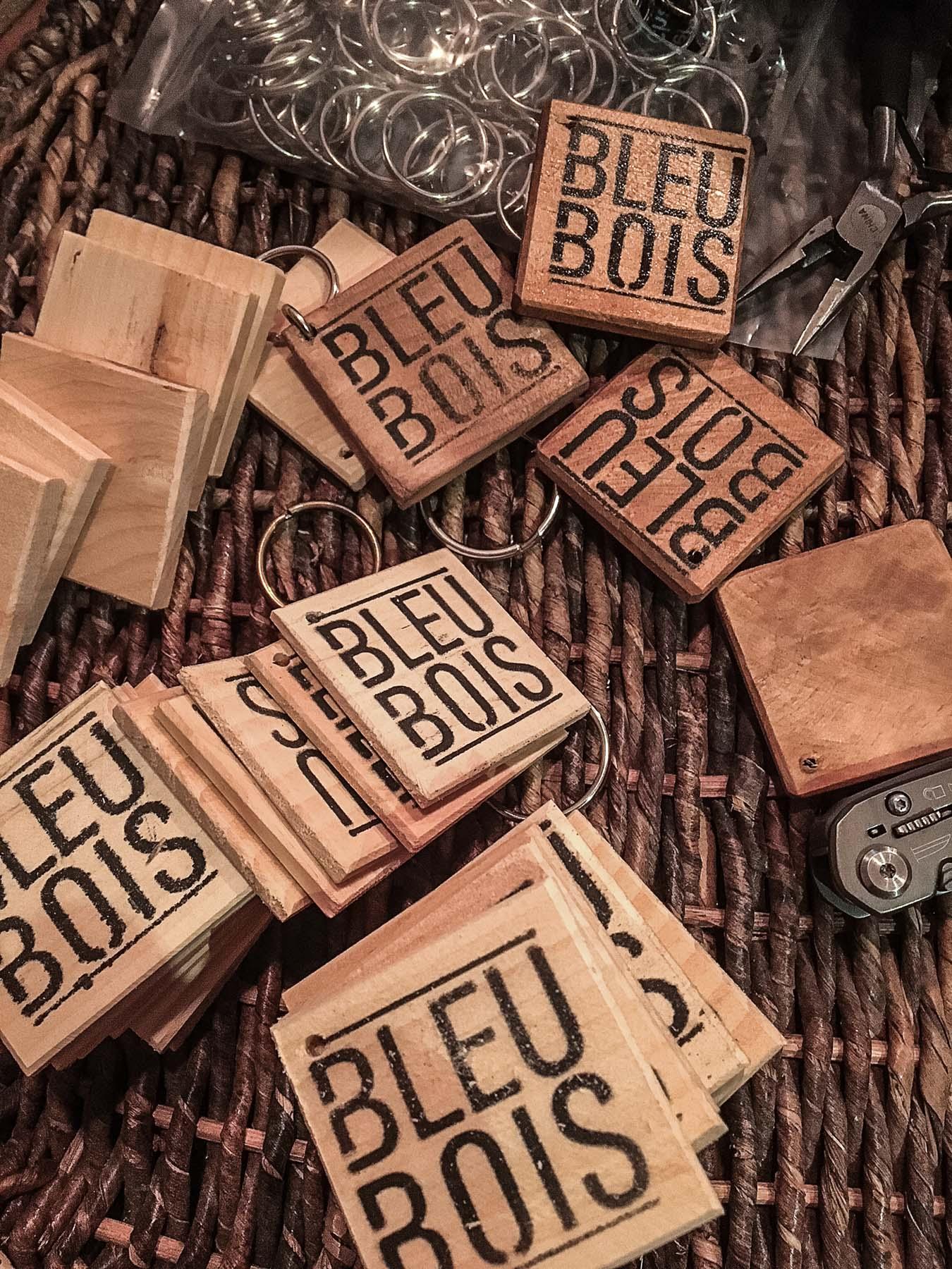Les porte-clés BleuBois