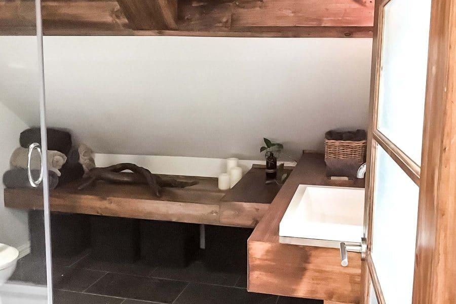 Bleu Bois Rénovation de salle de bain