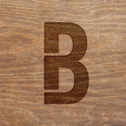 bleu-bois-B-symbol pyrogravure
